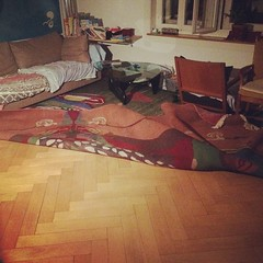 3 litres of water on the carpet can really mess up your living room.