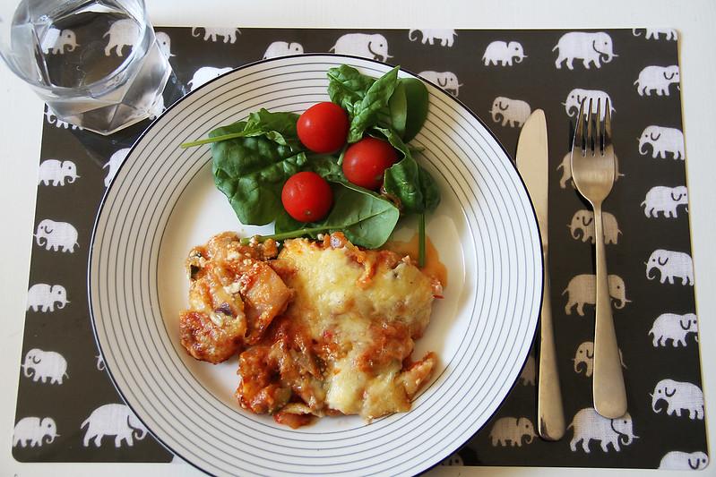 lasagne och johannabesök!