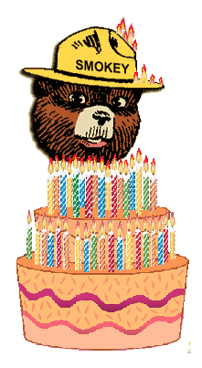 Happy Birthday Smokey Bear
