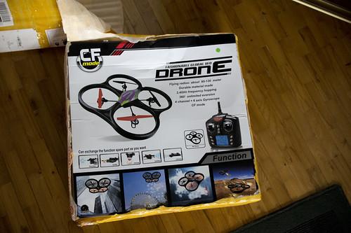Quadcopteris filmavimui su GoPro kamera iki 300lt