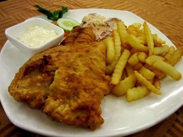 Aussie Story fish & chips