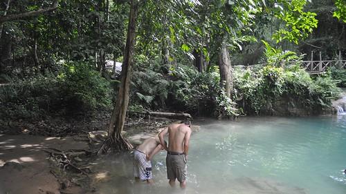 2014 d5000 kuangsi laos luangprabang nikon park province waterfall outdoor landscape