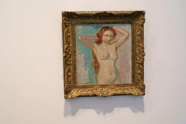 Nue au musée des Beaux Arts à Lyon.