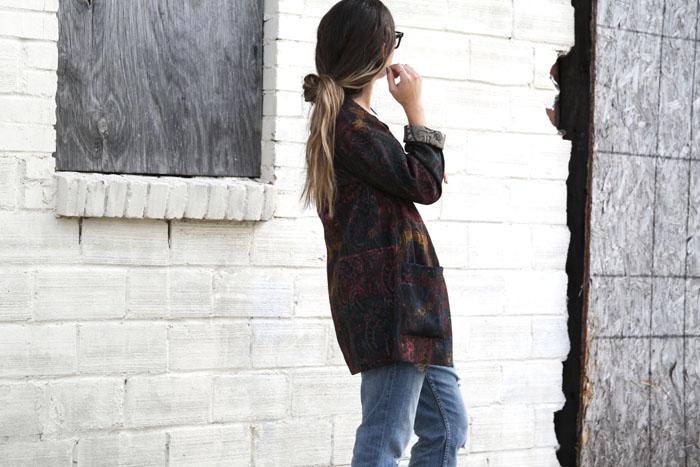 Fringe of the Cro | Fashion Hair Trend The Low half bun