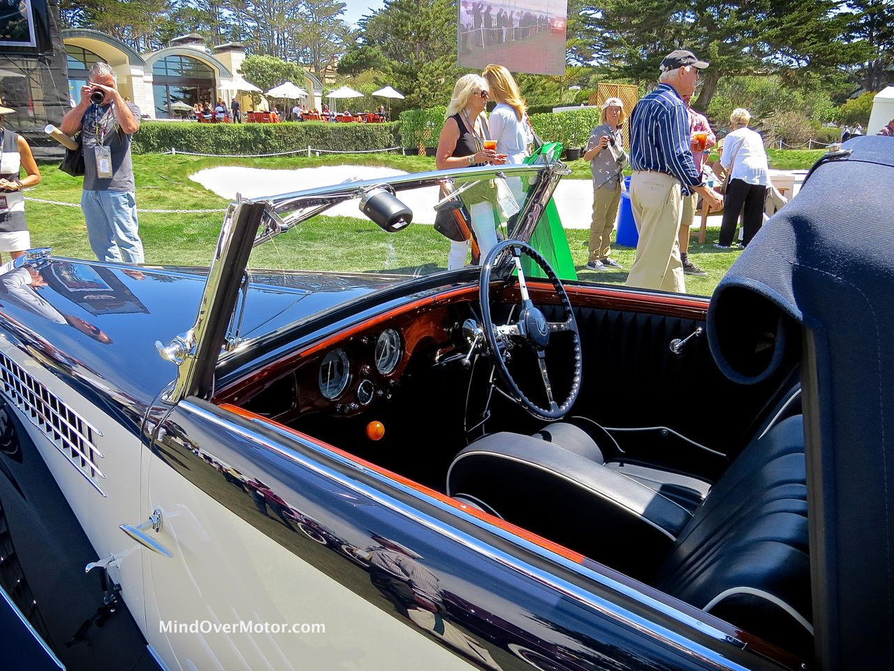 1936 Delage D6 Interior and Rooflines