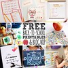 Lots of Super Fun Back to School Free Printables #ontheblog today! Go check out all of the goodness. Hop around and download it all for free:-) #linkinprofile #backtoschool #freeprintables #school #free #printables #bloghop