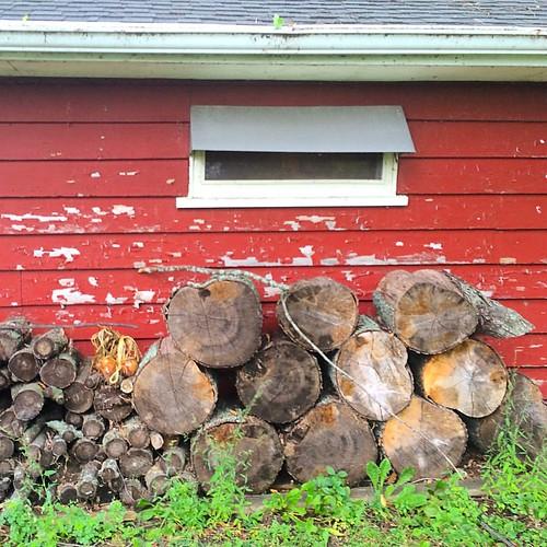 #barn #wood #logs #wood #firewood #lynnfriedman