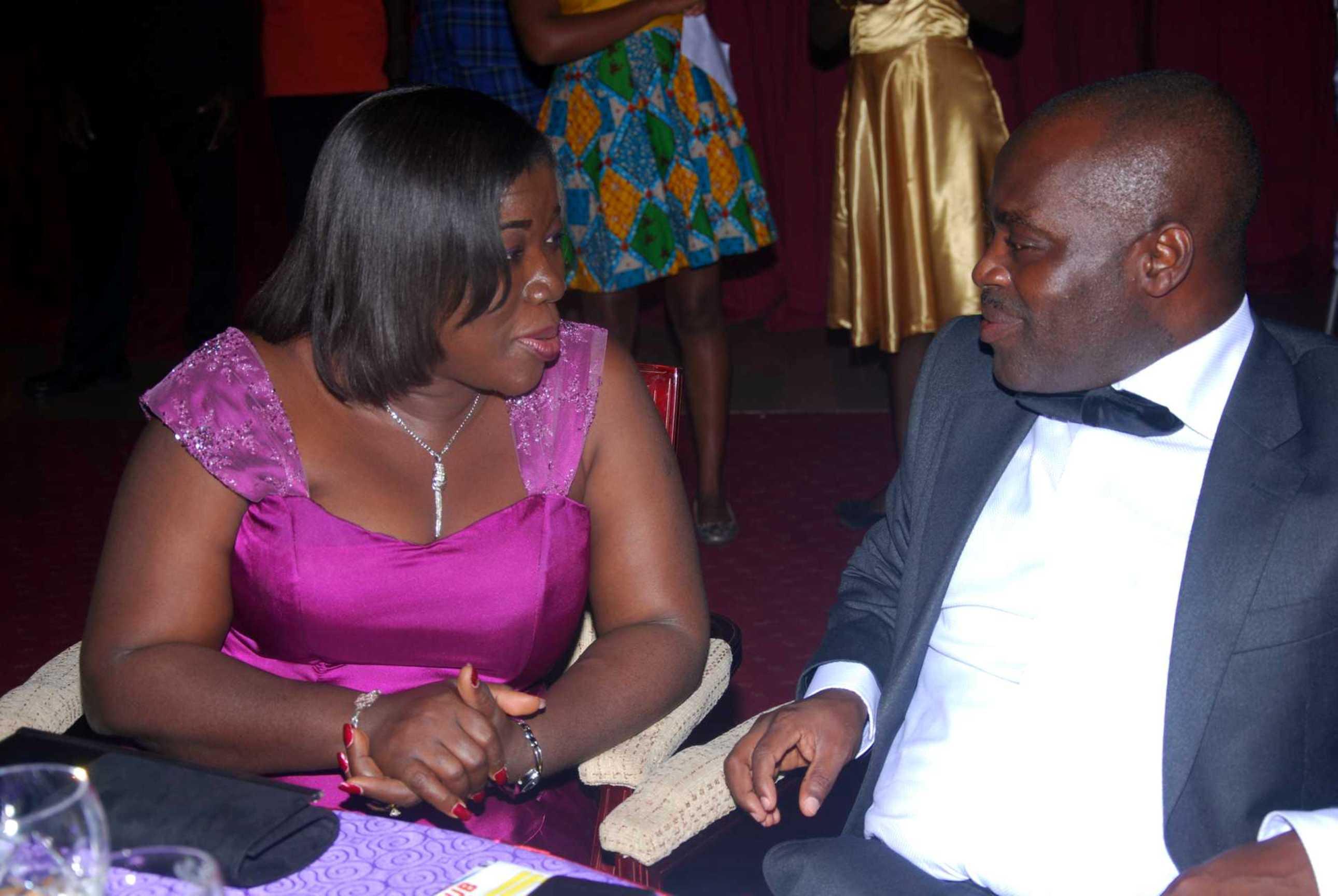 Hon Minister and Husband Mr Ofosu Agyare