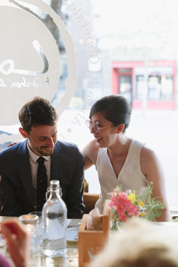 Celine Kim Photography intimate High Park Parkdale restaurant wedding Toronto wedding EM-85