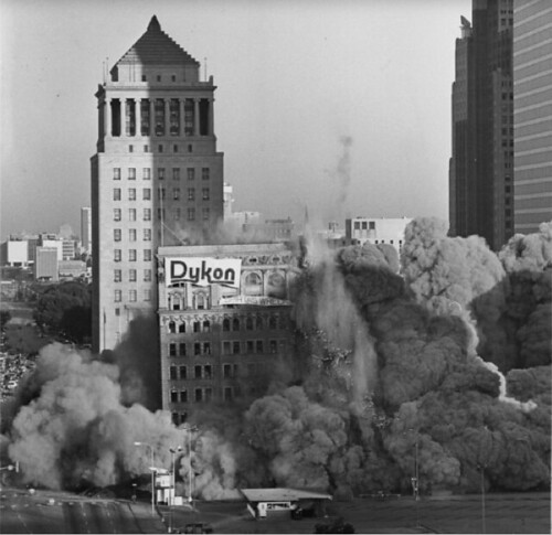 Buder & International Buildings implosion