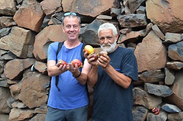 Pepe, Jack and Passion fruit, Agulo, La Gomera