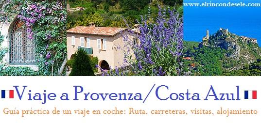 Banner del viaje a la Costa Azul