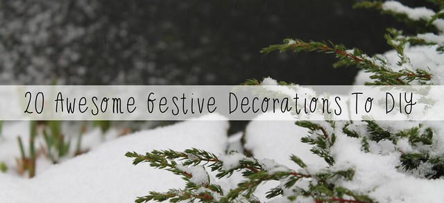 20 awesome festive decorations to diy