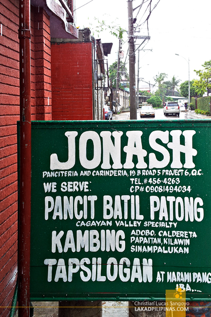 Jonash Panciteria and Carinderia in Quezon City