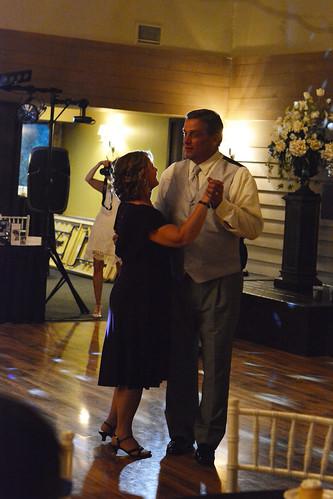 bob and chris dancing