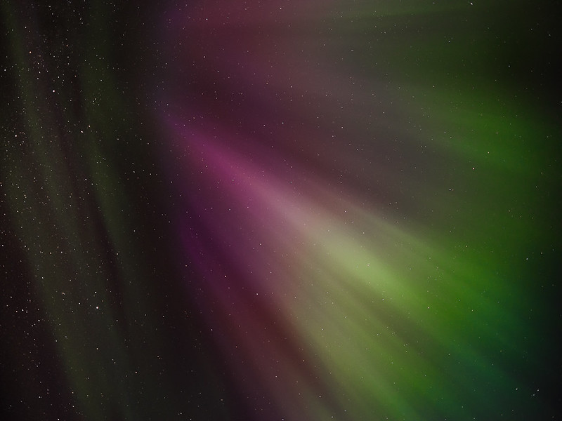 Northern Lights abstract