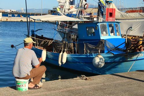 pescatore a Preveza