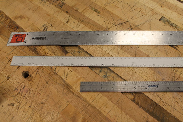 Rulers and yardsticks