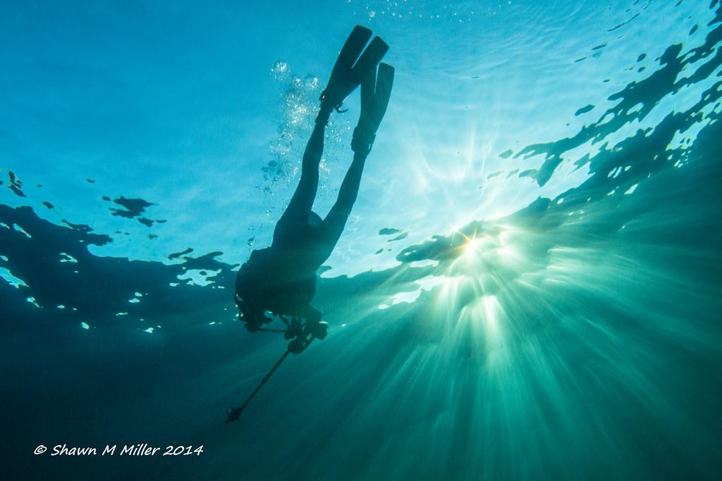 Underwater explorer - Manzamo, Okinawa