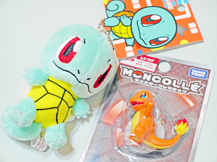 squirtle chamander
