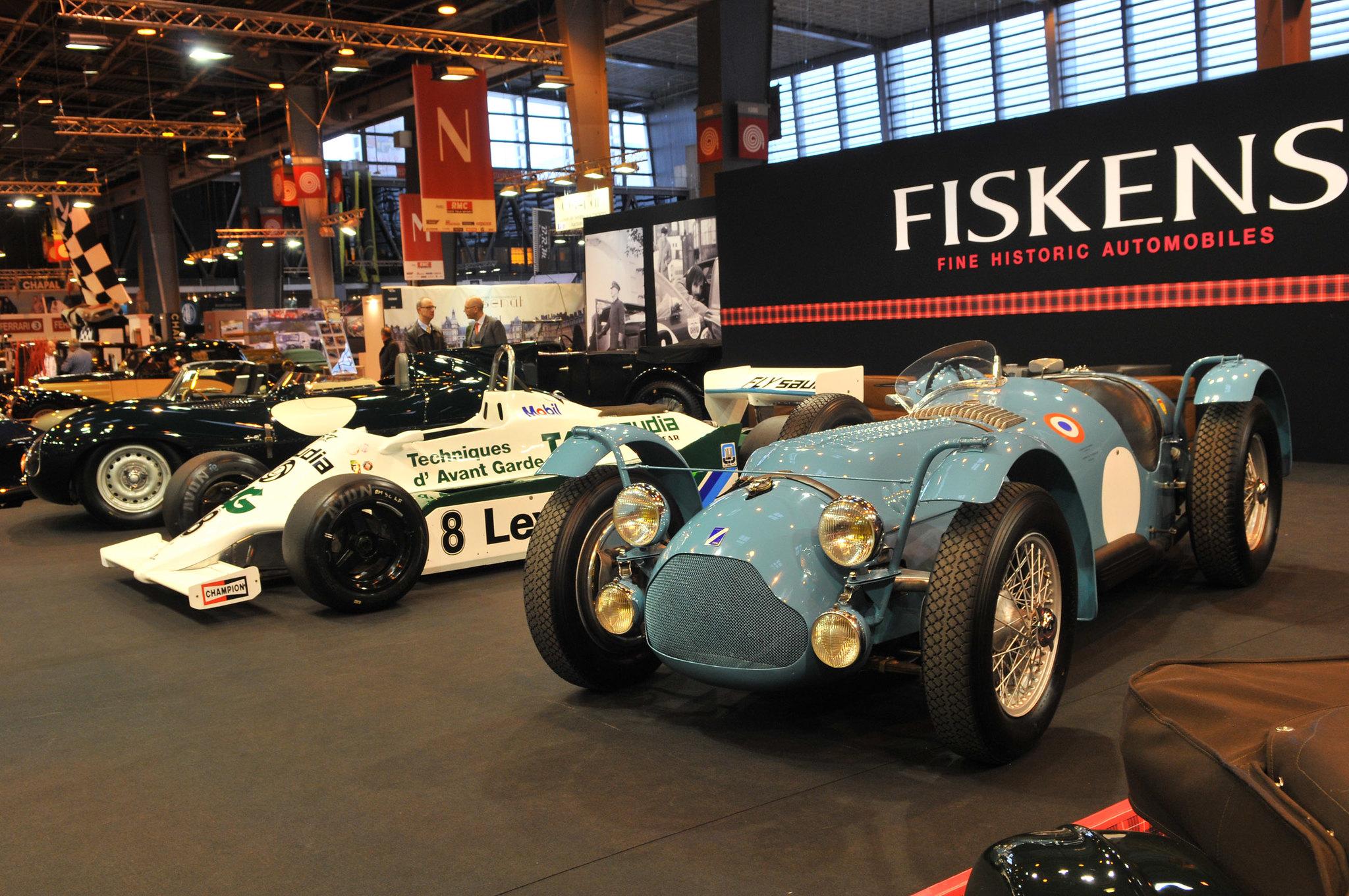 Talbot Lago et Williams F1 FW07 D