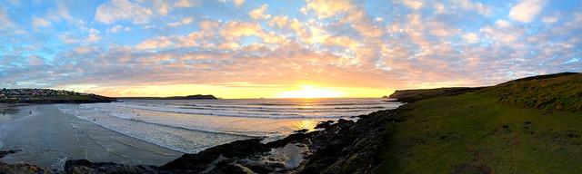 Polzeath 2014 Panoramic Photo