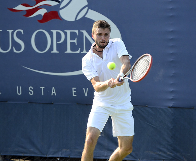 2014 US Open (Tennis) - Tournament - Gilles Simon