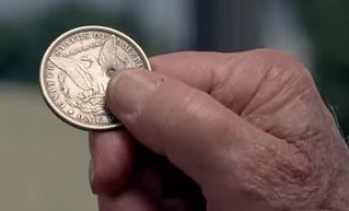 Taco Bell commercial silver dollar