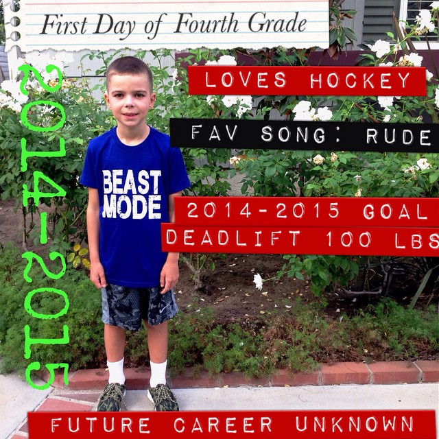 First Day of Fourth Grade! #backtoschool #fourthgrade #beastmode