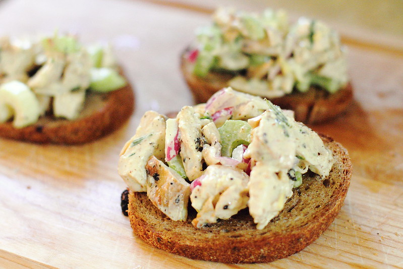 Sunday Dinner: Tarragon Chicken Salad