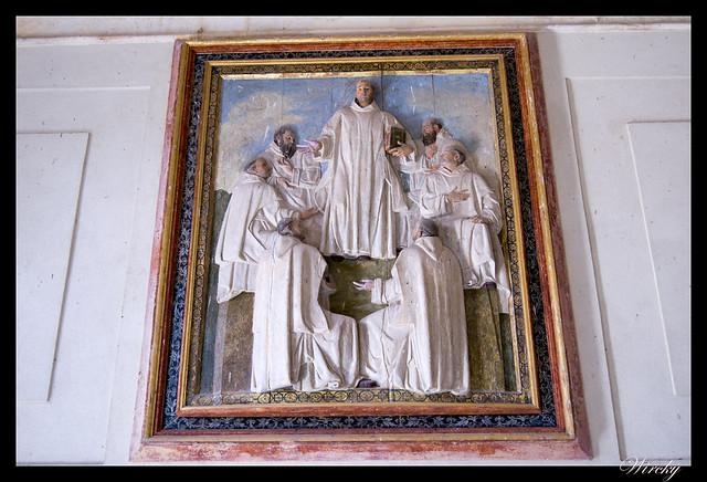 Bajorrelieve Monasterio El Paular