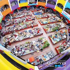 Pasar Siti Khadijah from 2nd Floor...  #GoPro2231 #kelateku #kelantan #gopromalaysia_official #goprokelantan #gopro #gopromalaysia