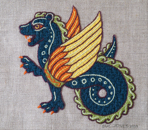 Tanya's Dragon - finished