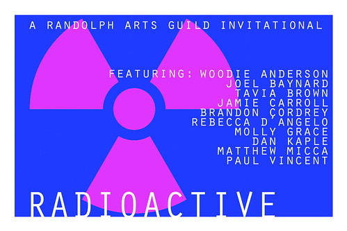 RADIOACTIVE logo with artists