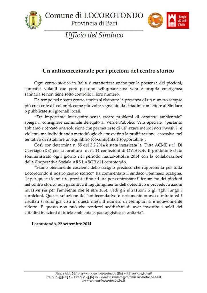 comunicato stampa_anticoncezionale per i piccioni_Page1