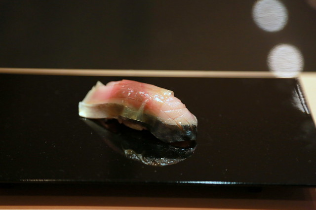 Saba nigiri sushi