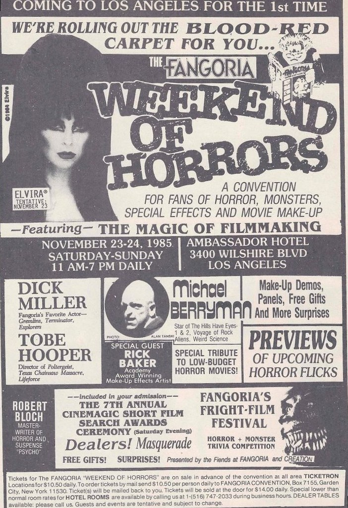 Weekend of Horrors 1985