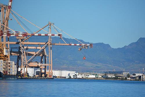 gantry crane spreader