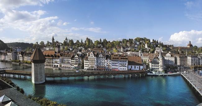 Lucern, Lucernské jezero.