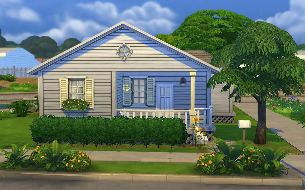 Sunflower cottage starter home the sims forums for Small starter homes