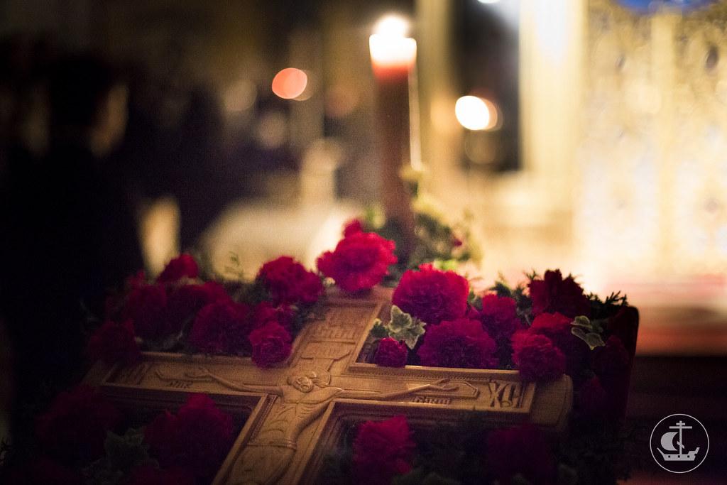 26 сентября 2014, Всенощное накануне Воздвижения Честного и Животворящего Креста Господня / 26 September 2014, Vigil on the eve of The Universal Exaltation of the Precious and Life-giving Cross