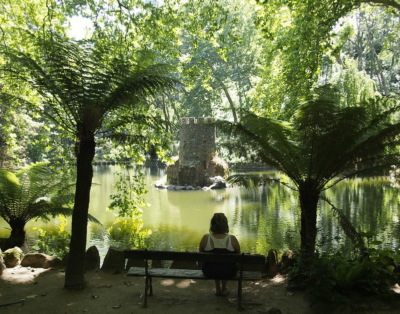 Pena Palace Garden Sintra, Portugal, travel,