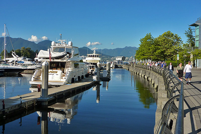 Coal Harbour, Vancouver, British Columbia, Canada