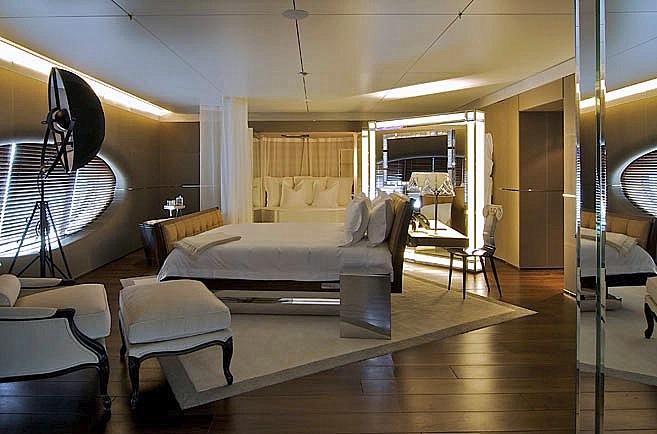 Andrey Melnichenko's Stunning Philippe Starck Yacht ...