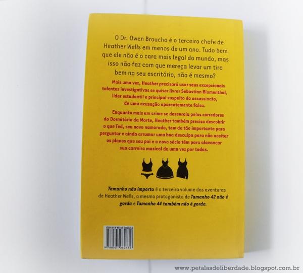 Resenha, livro, Tamanho Não Importa, Meg Cabot, chick lit, trechos, quotes, editora, Galera Record, contracapa, sinopse