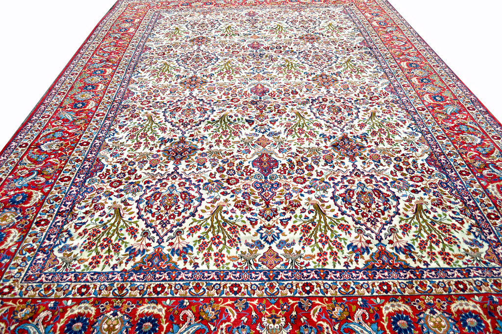 Isfahan Over Size Persian Rug