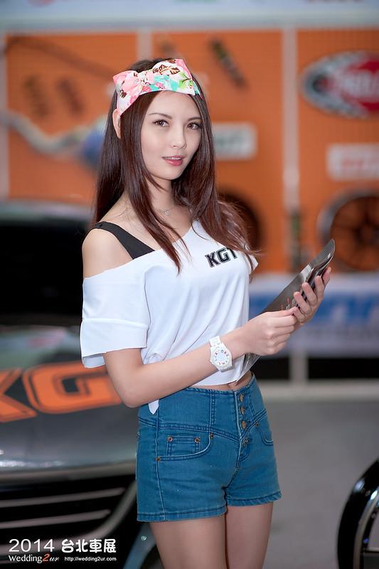 2014台北車展 show girl,30