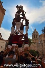 Sitges-castellers-santa tecla