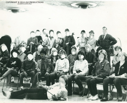 1984 MHS Band Group Pic Art Project Version 2 (bad version)