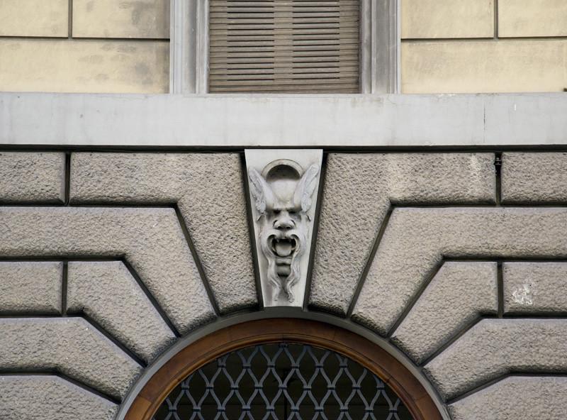 Mask at Rome